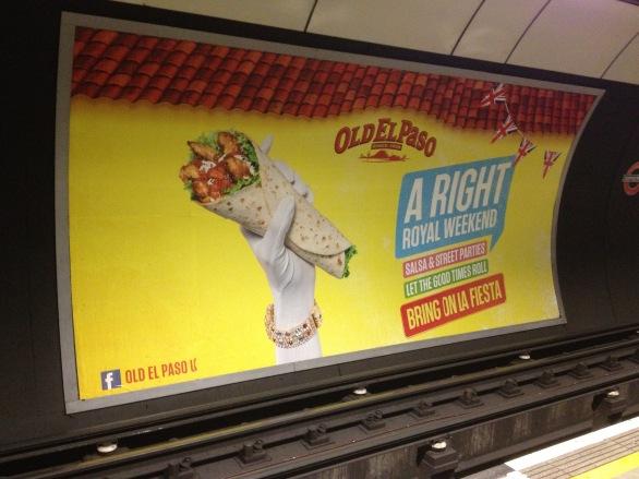 London Tube Ad